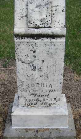 EVANS, SOPHIA - Saline County, Nebraska | SOPHIA EVANS - Nebraska Gravestone Photos
