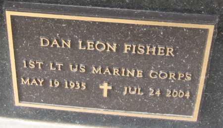 FISHER, DAN LEON - Saline County, Nebraska | DAN LEON FISHER - Nebraska Gravestone Photos