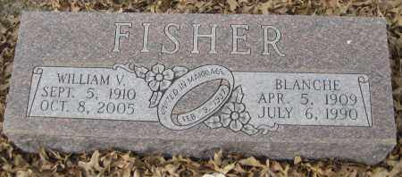 FISHER, BLANCHE - Saline County, Nebraska | BLANCHE FISHER - Nebraska Gravestone Photos