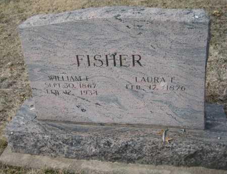 FISHER, WILLIAM L. - Saline County, Nebraska | WILLIAM L. FISHER - Nebraska Gravestone Photos