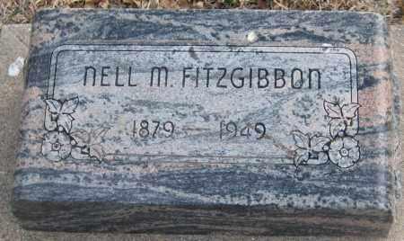 FITZGIBBON, NELL M. - Saline County, Nebraska | NELL M. FITZGIBBON - Nebraska Gravestone Photos