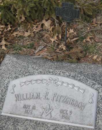 FITZGIBBON, WILLIAM E. - Saline County, Nebraska | WILLIAM E. FITZGIBBON - Nebraska Gravestone Photos