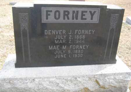 FORNEY, DENVER J. - Saline County, Nebraska | DENVER J. FORNEY - Nebraska Gravestone Photos