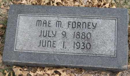 FORNEY, MAE M. - Saline County, Nebraska   MAE M. FORNEY - Nebraska Gravestone Photos