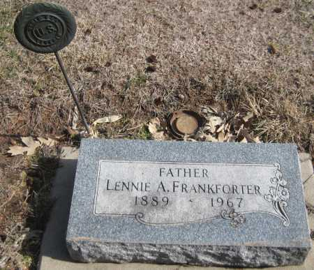 FRANKFORTER, LENNIE A. - Saline County, Nebraska   LENNIE A. FRANKFORTER - Nebraska Gravestone Photos