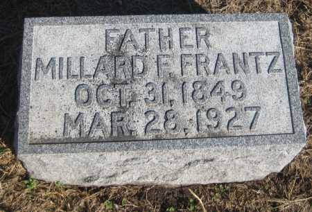FRANTZ, MILLARD F. - Saline County, Nebraska | MILLARD F. FRANTZ - Nebraska Gravestone Photos