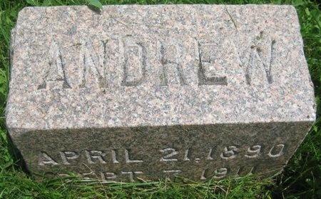 FREW, ANDREW - Saline County, Nebraska | ANDREW FREW - Nebraska Gravestone Photos