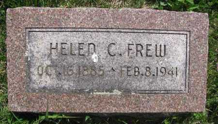 FREW, HELEN C. - Saline County, Nebraska | HELEN C. FREW - Nebraska Gravestone Photos