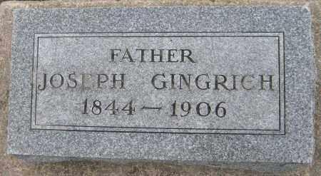 GINGRICH, JOSEPH - Saline County, Nebraska   JOSEPH GINGRICH - Nebraska Gravestone Photos