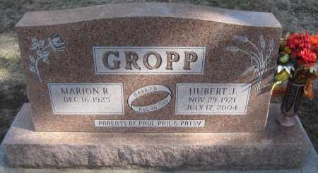 GROPP, MARION R. - Saline County, Nebraska | MARION R. GROPP - Nebraska Gravestone Photos