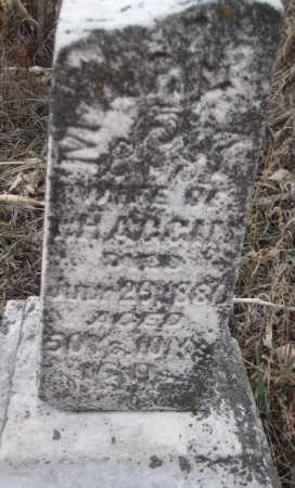 HAGERS, MARY H. - Saline County, Nebraska | MARY H. HAGERS - Nebraska Gravestone Photos