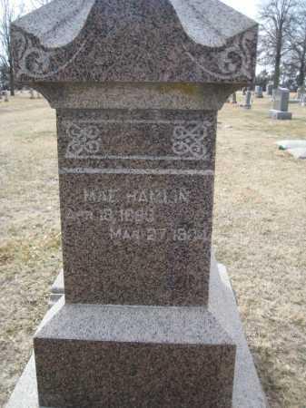 EVANS HAMLIN, MAE - Saline County, Nebraska | MAE EVANS HAMLIN - Nebraska Gravestone Photos