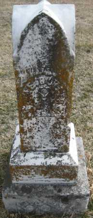 HARD TO READ, STONE - Saline County, Nebraska | STONE HARD TO READ - Nebraska Gravestone Photos