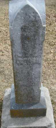 HARD TO READ, STONE - Saline County, Nebraska | STONE HARD TO READ - Nebraska Gravestone Photos