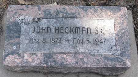 HECKMAN, JOHN SR. - Saline County, Nebraska | JOHN SR. HECKMAN - Nebraska Gravestone Photos