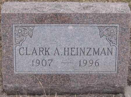HEINZMAN, CLARK ALFRED - Saline County, Nebraska | CLARK ALFRED HEINZMAN - Nebraska Gravestone Photos