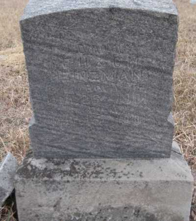 HEINZMAN, GLADYS MARIE - Saline County, Nebraska | GLADYS MARIE HEINZMAN - Nebraska Gravestone Photos