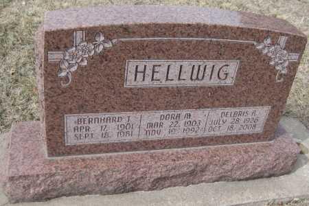 HELLWIG, DORA MARIE - Saline County, Nebraska | DORA MARIE HELLWIG - Nebraska Gravestone Photos