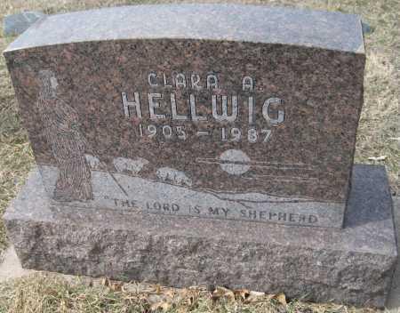 HELLWIG, CLARA A. - Saline County, Nebraska   CLARA A. HELLWIG - Nebraska Gravestone Photos