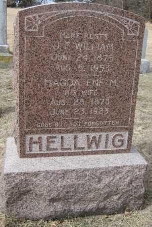HELLWIG, MAGDALENE M. - Saline County, Nebraska | MAGDALENE M. HELLWIG - Nebraska Gravestone Photos