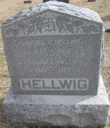 HELLWIG, HANNA - Saline County, Nebraska   HANNA HELLWIG - Nebraska Gravestone Photos