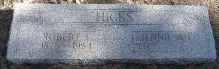 HICKS, JENNIE ADELL - Saline County, Nebraska   JENNIE ADELL HICKS - Nebraska Gravestone Photos