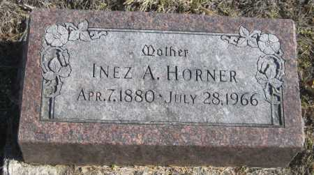 HORNER, INEZ A. - Saline County, Nebraska | INEZ A. HORNER - Nebraska Gravestone Photos