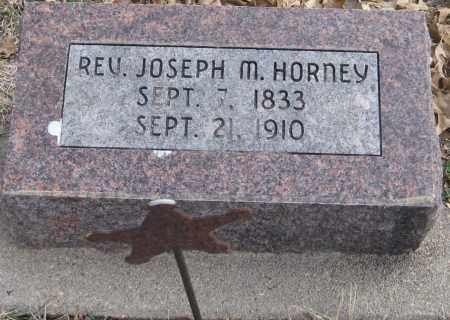 HORNEY, JOSEPH M. - Saline County, Nebraska | JOSEPH M. HORNEY - Nebraska Gravestone Photos