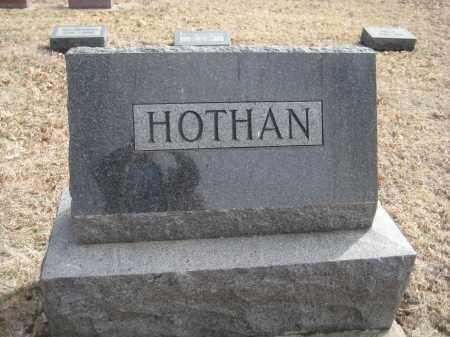 HOTHAN, FAMILY MONUMENT - Saline County, Nebraska | FAMILY MONUMENT HOTHAN - Nebraska Gravestone Photos