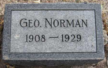 HOTHAN, GEORGE NORMAN - Saline County, Nebraska | GEORGE NORMAN HOTHAN - Nebraska Gravestone Photos