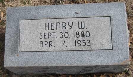 HOTHAN, HENRY W. - Saline County, Nebraska | HENRY W. HOTHAN - Nebraska Gravestone Photos
