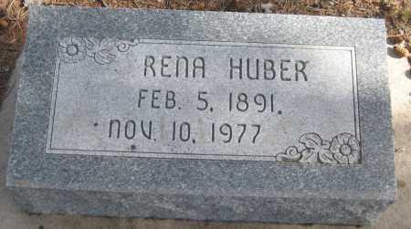 HUBER, RENA - Saline County, Nebraska | RENA HUBER - Nebraska Gravestone Photos