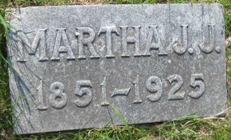 JACKSON, MARTHA J. - Saline County, Nebraska   MARTHA J. JACKSON - Nebraska Gravestone Photos