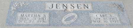 JENSEN, MARTHA S. - Saline County, Nebraska | MARTHA S. JENSEN - Nebraska Gravestone Photos