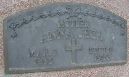 JEZL, ANNA - Saline County, Nebraska   ANNA JEZL - Nebraska Gravestone Photos