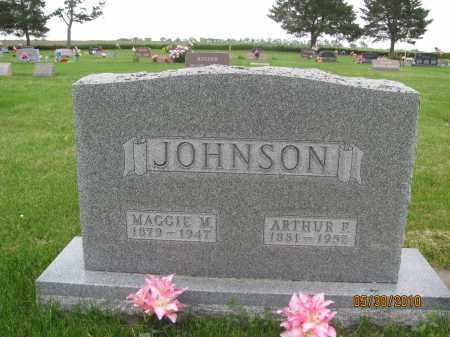 JOHNSON, ARTHUR FLOYD - Saline County, Nebraska | ARTHUR FLOYD JOHNSON - Nebraska Gravestone Photos
