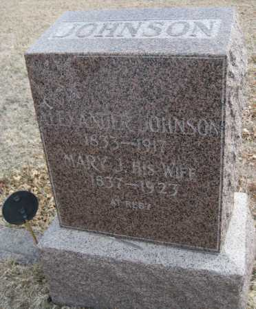 JOHNSON, MARY J. - Saline County, Nebraska | MARY J. JOHNSON - Nebraska Gravestone Photos
