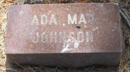 JOHNSON, ADA MAY - Saline County, Nebraska | ADA MAY JOHNSON - Nebraska Gravestone Photos