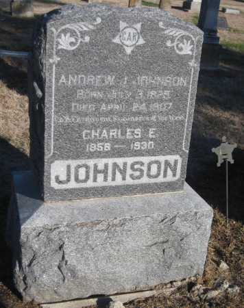 JOHNSON, CHARLES E. - Saline County, Nebraska | CHARLES E. JOHNSON - Nebraska Gravestone Photos