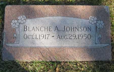 JOHNSON, BLANCHE A. - Saline County, Nebraska   BLANCHE A. JOHNSON - Nebraska Gravestone Photos