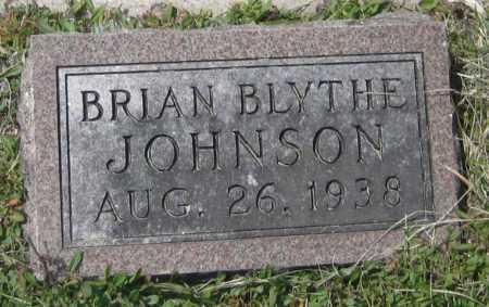 JOHNSON, BRIAN BLYTHE - Saline County, Nebraska   BRIAN BLYTHE JOHNSON - Nebraska Gravestone Photos