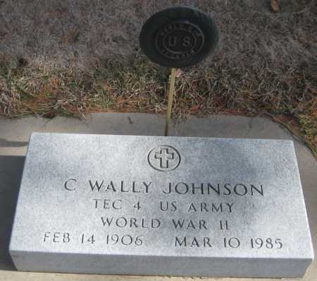JOHNSON, C. WALLY - Saline County, Nebraska | C. WALLY JOHNSON - Nebraska Gravestone Photos