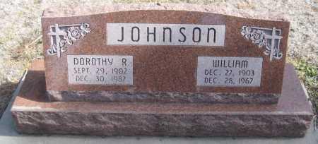 JOHNSON, WILLIAM - Saline County, Nebraska   WILLIAM JOHNSON - Nebraska Gravestone Photos
