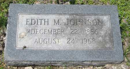 JOHNSON, EDITH M. - Saline County, Nebraska | EDITH M. JOHNSON - Nebraska Gravestone Photos