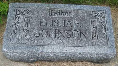 JOHNSON, ELISHA F. - Saline County, Nebraska | ELISHA F. JOHNSON - Nebraska Gravestone Photos