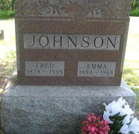 JOHNSON, EMMA - Saline County, Nebraska | EMMA JOHNSON - Nebraska Gravestone Photos