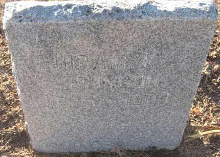 JOHNSON, HIRAM K. - Saline County, Nebraska | HIRAM K. JOHNSON - Nebraska Gravestone Photos