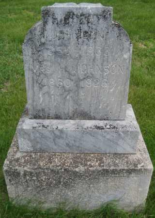 "JOHNSON, ADDESIA ""JANE"" - Saline County, Nebraska | ADDESIA ""JANE"" JOHNSON - Nebraska Gravestone Photos"