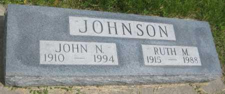 JOHNSON, JOHN N. - Saline County, Nebraska | JOHN N. JOHNSON - Nebraska Gravestone Photos