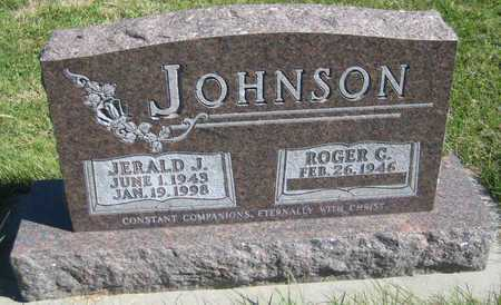 JOHNSON, ROGER G. - Saline County, Nebraska | ROGER G. JOHNSON - Nebraska Gravestone Photos